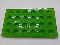 Форма силиконовая для конфет (24 шт)