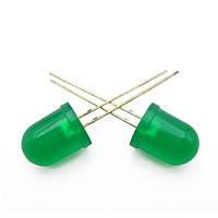 Светодиоды 10 мм зеленый