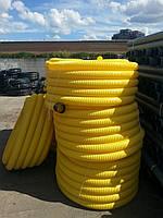 Труба дренажная гофрированная с перфорацией 110 мм, фото 1