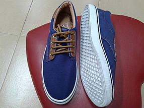 Мужские кеды MOLI , синие, фото 3