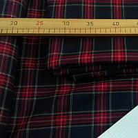 Костюмная шерстяная ткань Шотландка (крупная клетка)