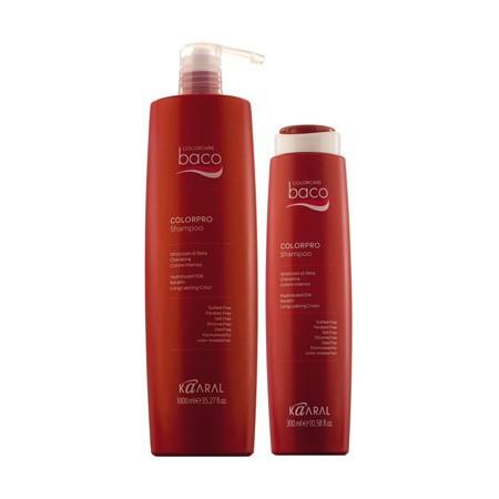 Васо Colorpro Shampoo - Шампунь для окрашенных волос с гидролизатами шелка и кератином 300 мл