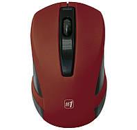 Мышь Defender MM-605 беспроводная, Red USB