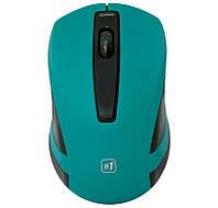 Мышь Defender MM-605 беспроводная, Green USB