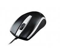 Мышь Gembird MUS-104-GR, оптика, Black/Grey USB