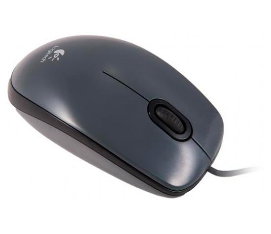 Мышь Logitech M100 (910-005003) Gray, Optical, USB, 1000 dpi, мышка