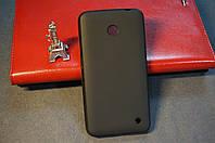 Чехол бампер силиконовый Microsoft (Nokia) Lumia 630 цвет черный