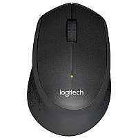 Мышь беспроводная Logitech M330 (910-004909) Silent Plus Black, Optical, 1000 dpi