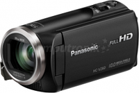 Камеры, фотоопараты,  Panasonic, HC-V260EP-K, czarna
