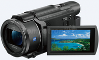 Камеры, фотоопараты,  Sony, FDR-AX53, 4K, Czarna
