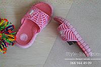 Пляжная обувь  шлепки для девочки тм Giolan р.30,31,32,33,34,35