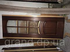 Дверь межкомнатная 033 шпонированная 700мм остекленная