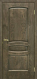 Міжкімнатні двері пвх Венеція ПГ дуб шервуд