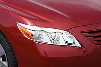 Хром накладки на фары Toyota Camry 40 2006-2009