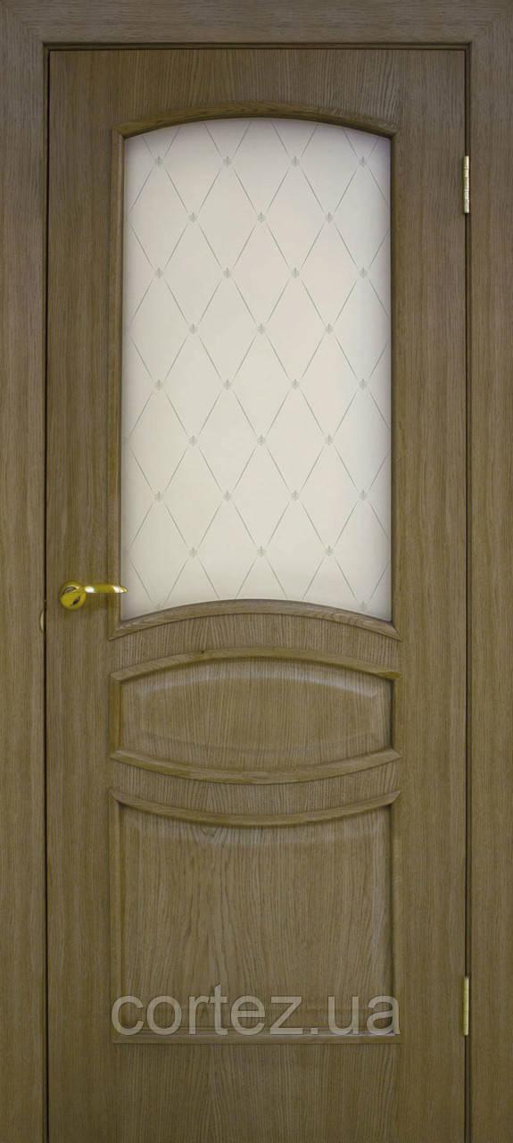 Межкомнатные двери пвх Венеция СС классик дуб ретро