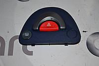 Кнопка аварийки без кондиционера синяя б/у Smart ForTwo 450