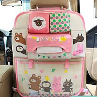 Органайзер в автомобиль детский Овечка Бежевый (04007)