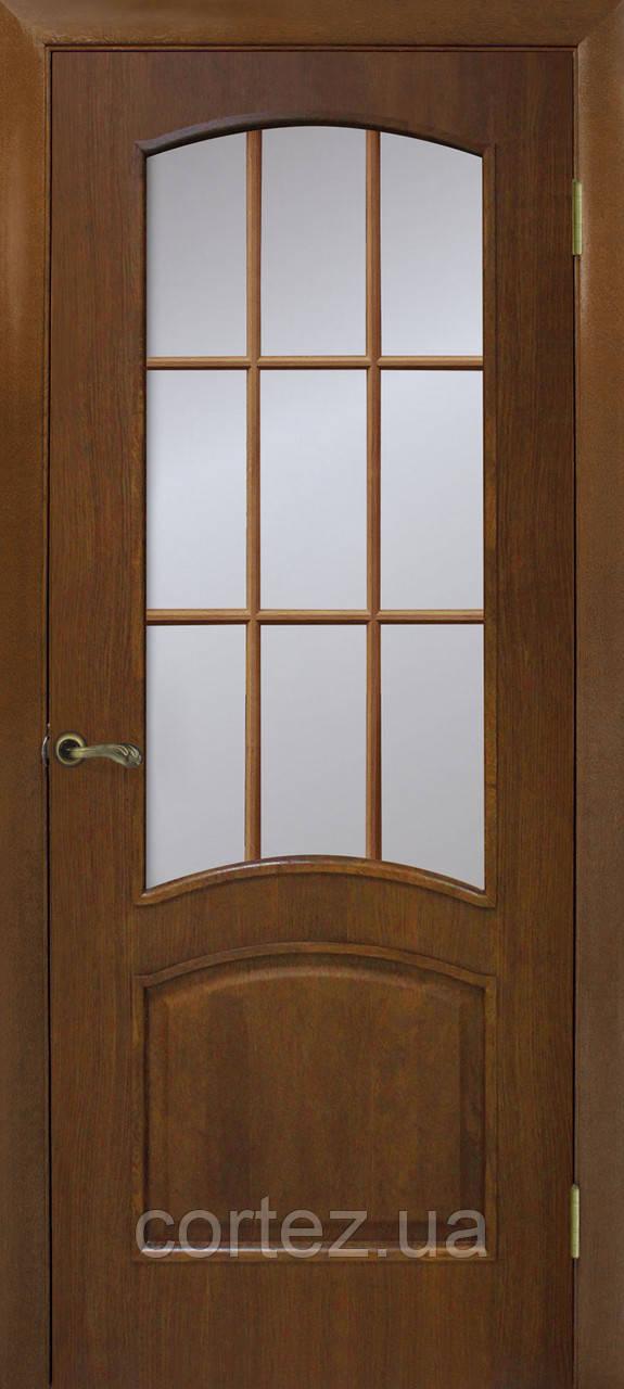 Межкомнатные двери пвх Капри СС орех