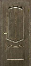 Міжкімнатні двері пвх Кармен ПГ дуб шервуд