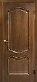 Міжкімнатні двері пвх Кармен ПГ горіх