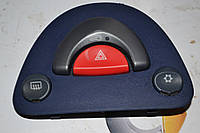 Кнопка аварийки с кондиционером б/у Smart ForTwo 450 синяя
