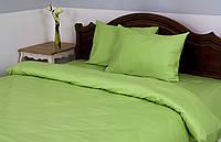Постельное белье для гостиниц - Lotus сатин классик зеленый евро
