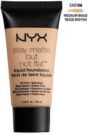 Тональная основа NYX stay matte №6