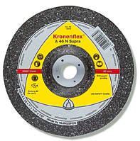 ✅ Круг зачистной Klingspor (Kronenflex®) A 46 N Supra Ø 180 х 6.0 х 22.23 мм (алюминий)