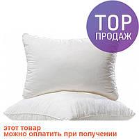 Подушка с наполнителем силиконовые шарики 60х60 см тик / силиконовая подушка