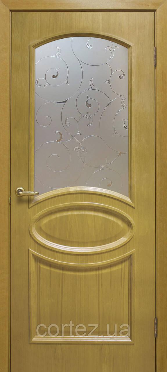 Межкомнатные двери пвх Лаура СС классик