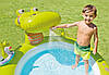"""Детский надувной бассейн Intex """"Крокодил"""", с фонтаном, 198x160х91 cм   (57431), фото 3"""