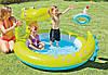 """Детский надувной бассейн Intex """"Крокодил"""", с фонтаном, 198x160х91 cм   (57431), фото 2"""