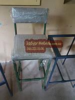Барные стулья в стиле loft со спинкой