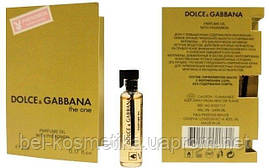 Dolce Gabbana The One pour femme - Parfume Oil with pheromon 5ml