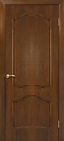 Міжкімнатні двері пвх Кароліна ПГ горіх