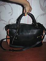 Стильная черная сумка Zara Basic