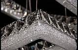 Квадратная подвесная люстра светодиодная 2247, фото 2