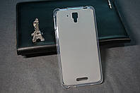 Чехол бампер силиконовый Lenovo S8 S898+ S898T цвет белый
