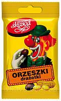 Орешки-драже Orzeszki drazetki Клоун( арахис в шоколаде ) Польша 70г