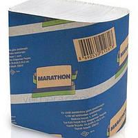 Бумажные полотенца листовые, белые, Z-укладка, Marathon EXTRA 9655035