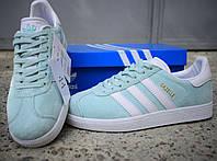 Кросівки Adidas Gazelle бірюзові