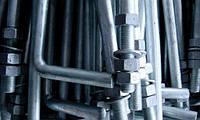 Болт фундаментный тип 2-1 ГОСТ 24379.1-80 диаметром от М16 до М48
