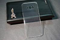 Чехол бампер силиконовый Samsung Galaxy S8+ S8 PLUS G955F Ультратонкий прозрачный