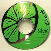 Диски CD-R Kaktuz 700Mb 52*Bulk 50 pcs
