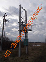 Столбовая трансформаторная подстанция КТПС 63 кВА