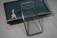 Чехол бампер силиконовый Samsung Galaxy S8+ S8 PLUS G955F Ультратонкий полупрозрачный