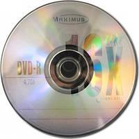 Диски DVD-R Maximus 4.7Gb 16*Bulk 50 pcs