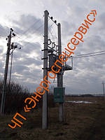 Трансформаторная подстанция столбовая КТПС 100 кВА
