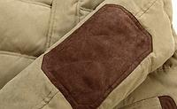 Зимняя мужская куртка с капюшоном. Модель 6136, фото 8
