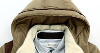 Зимняя мужская куртка с капюшоном. Модель 6136, фото 6